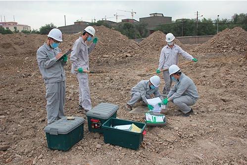 无锡某机械厂污染土壤风险评价及修复项目
